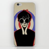 mod iPhone & iPod Skins featuring Mod by LunaLunaRiotGirl
