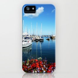 Guernsey Harbour iPhone Case