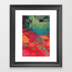 myssyng pyyce Framed Art Print