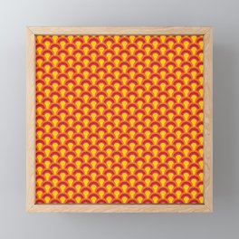 Dragon Fire Skin Framed Mini Art Print