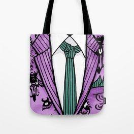 Haunted Suit Tote Bag