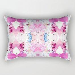 Pinky Swear (Abstract Paint Photograph) Rectangular Pillow