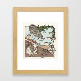 Migraine Framed Art Print