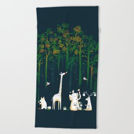 Re-paint the Forest Beach Towel