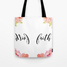 Faithh Tote Bag