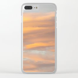 Pastel Skies Clear iPhone Case