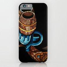 Black Double Barrell iPhone 6s Slim Case