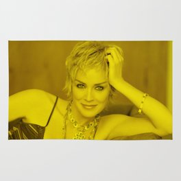 Sharon Stone - Celebrity (Photographic Art) Rug