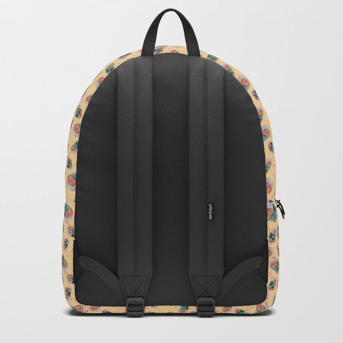 Spam Musubi Pattern Backpack