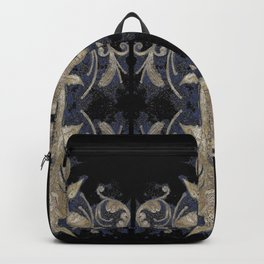 Poppies Goldish Gothic Backpack