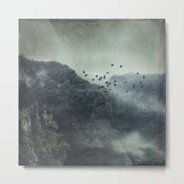 Misty Mountains Vol. X Metal Print