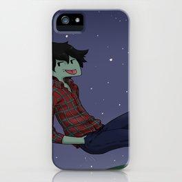 Midnight stars iPhone Case