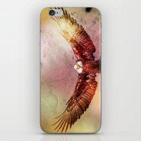 eagle iPhone & iPod Skins featuring Eagle by ron ashkenazi
