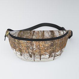 Maple Beech Forest in the Winter Fanny Pack