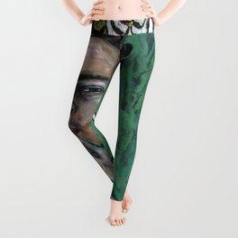 Peg Leg (Frida Kahlo, oil on canvas) Leggings