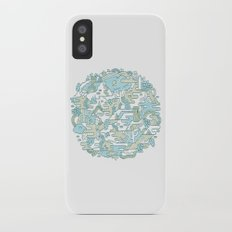 Foggy Woods iPhone X Slim Case