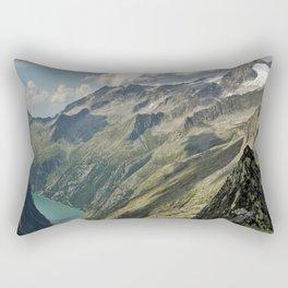zillergründl dam Austria Rectangular Pillow