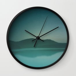 Lakeside Drive Wall Clock