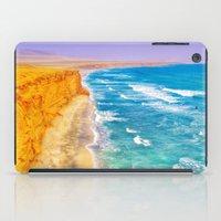 peru iPad Cases featuring Paracas -  Peru by E.R.