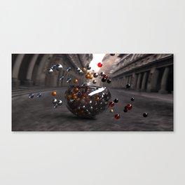 Bowls and Balls Canvas Print