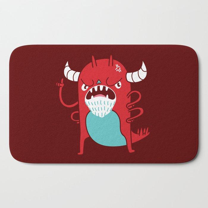 Monster Nagging Bath Mat