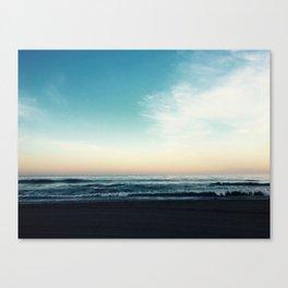 The Morning Horizon Canvas Print
