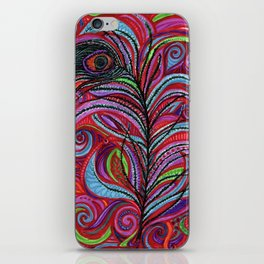 A Bright Feather iPhone Skin
