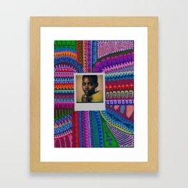 Lupita Nyong'o Framed Art Print