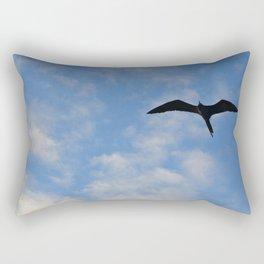 Frigate Bird Rectangular Pillow