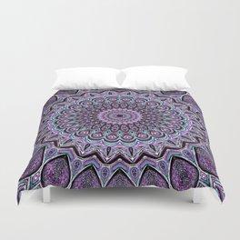 Blackberry Bliss - Mandala Art Duvet Cover