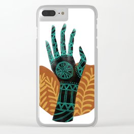 Goddess of the First Harvest Clear iPhone Case