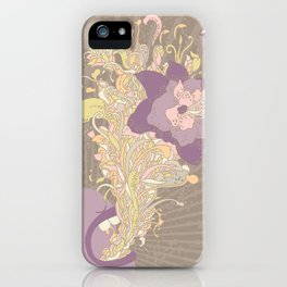 everything's coming out roses iPhone Case