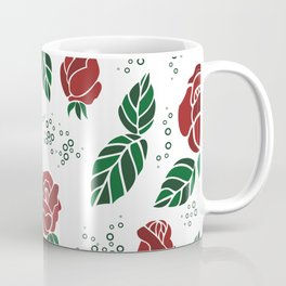 Background with roses Coffee Mug