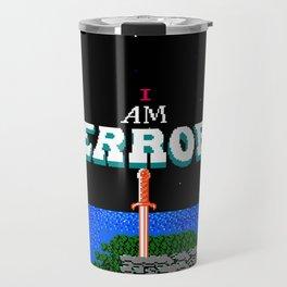 Adventures of Link - I Am Error Travel Mug