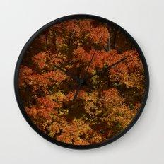 Autumn in Canada Wall Clock