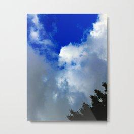 Sky and Cloud Metal Print