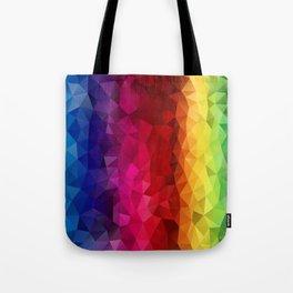 Rainbow Polygons Tote Bag