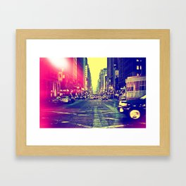 6th Ave Framed Art Print