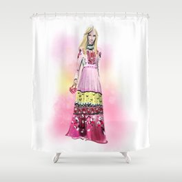 Streetstyle no 15 Shower Curtain
