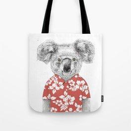 Summer koala Tote Bag