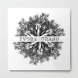Ivory Grand Metal Print