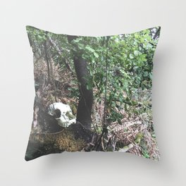 Self-discovery Throw Pillow