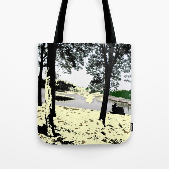 A Pleasant Day Tote Bag