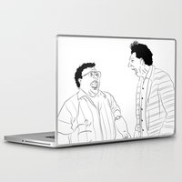 seinfeld Laptop & iPad Skins featuring Seinfeld by visualinterpreter