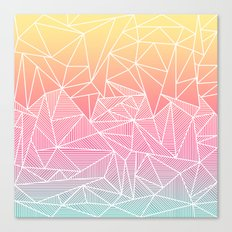 Beeniks Rays Canvas Print