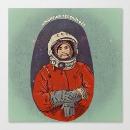 Valentina Tereshkova Canvas Print