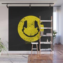 Music Smile Wall Mural