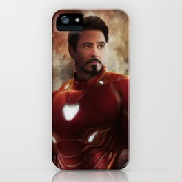 Man Iron (Infinity War) iPhone Case