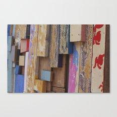 Paint Sticks Canvas Print