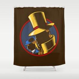 The Hardboiled Professor Shower Curtain